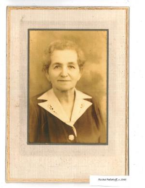 11 Rachel Poliakoff, c.1945