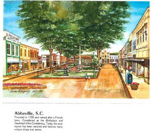 15 Abbeville SC Town Square