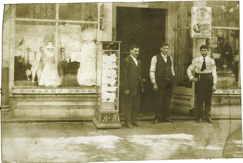 Surasky bros store Aiken SC 1924